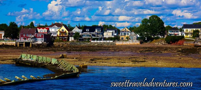 Sightseeing in the Historic Resort Town of St. Andrews by-the-Sea!